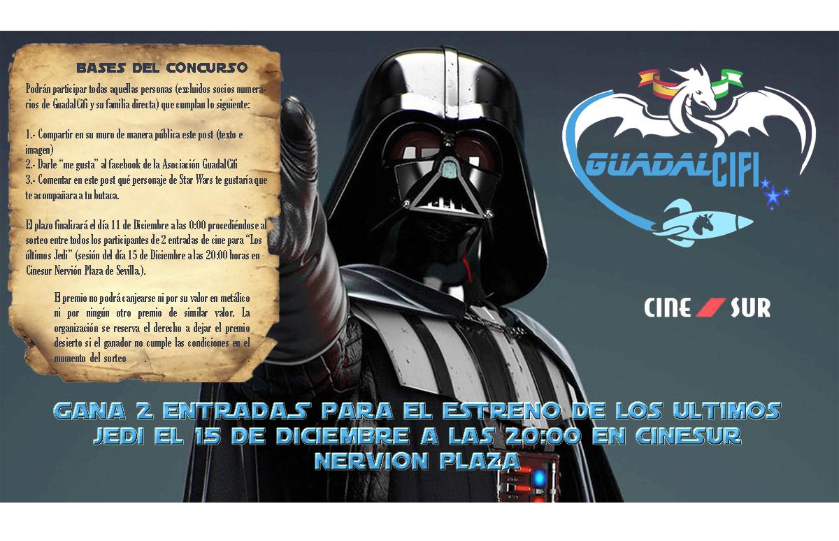"""Concurso """"Los Ultimos Jedi"""""""